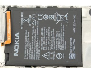 Nokia 6 Battery Replacement