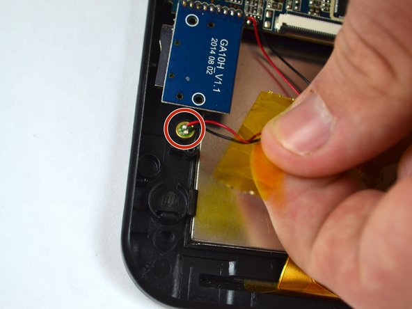 Image 2/2: Gently pull on the wires to remove the light from it's housing.