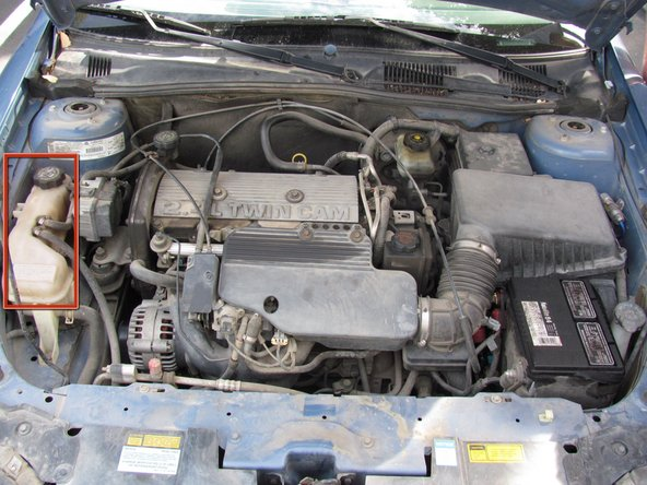 Make sure the engine is cool before removing the radiator reservoir cap. Radiator coolant needs to be disposed of properly. Visit this link for more information http://www.epa.gov/osw/conserve/material...