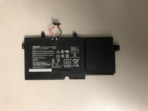 Asus Q552UB-BHI7T12 Battery Replacement