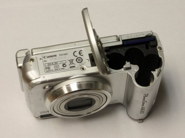 Canon PowerShot A630 Batteries Replacement