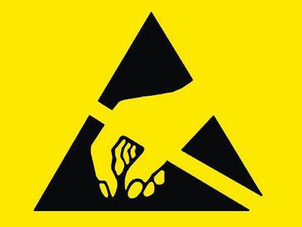 ESD safe symbol