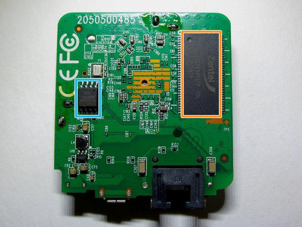 Image 1/3: Zentel A3S56D40GTP-50L RAM chip with 32 MB