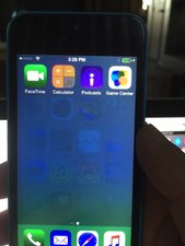 Solved Ghost Images On Iphone 5c 16gb Screen Won T