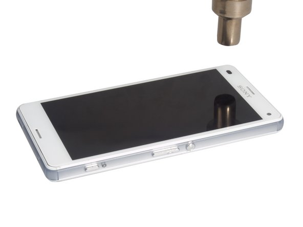 Separate the LCD screen with earpiece from midframe. See the detail on Sony Xperia Z3 Compact LCD screen replacement guide. Finally, you you can reassemble the phone with new midframe.
