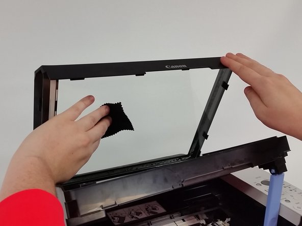 Canon PIXMA MP190 Scan Bed Removal