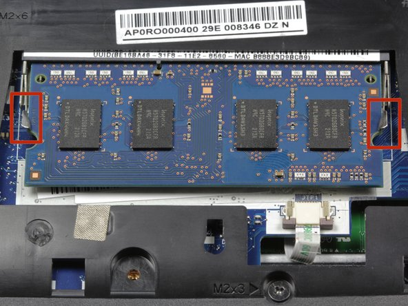 Acer Chromebook C710 RAM Replacement