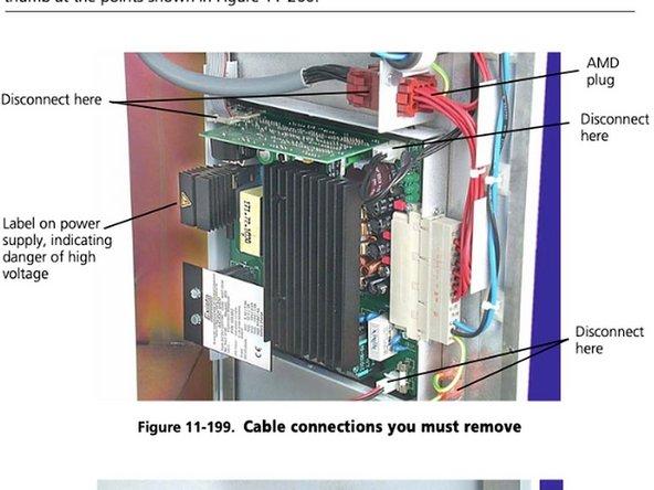 Hamilton Galileo Ventilator Power Supply Replacement