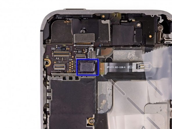 Power button ribbon cable in the iPhone 4S