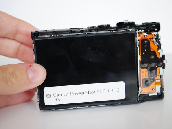 Canon PowerShot ELPH 310 HS LCD Screen Replacement