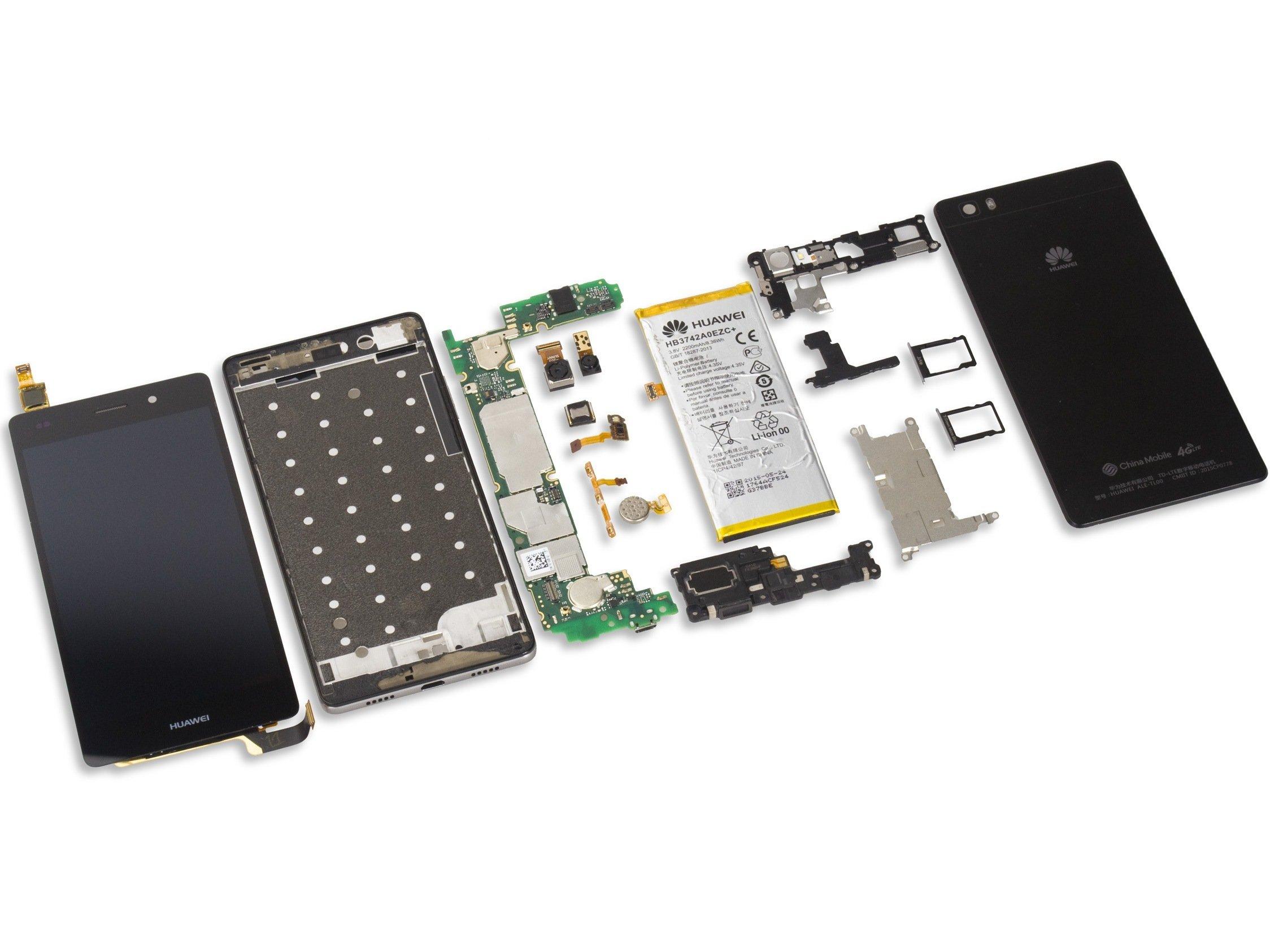 Huawei P8 Lite Teardown
