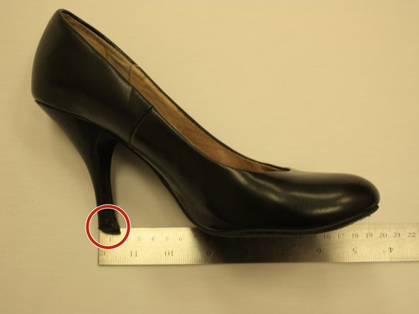 Measure the size of your heel tips to know what size to purchase.