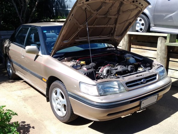 1991 Subaru Legacy Oil and filter change