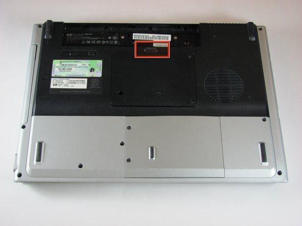 HP Pavilion dv5000 Battery Replacement