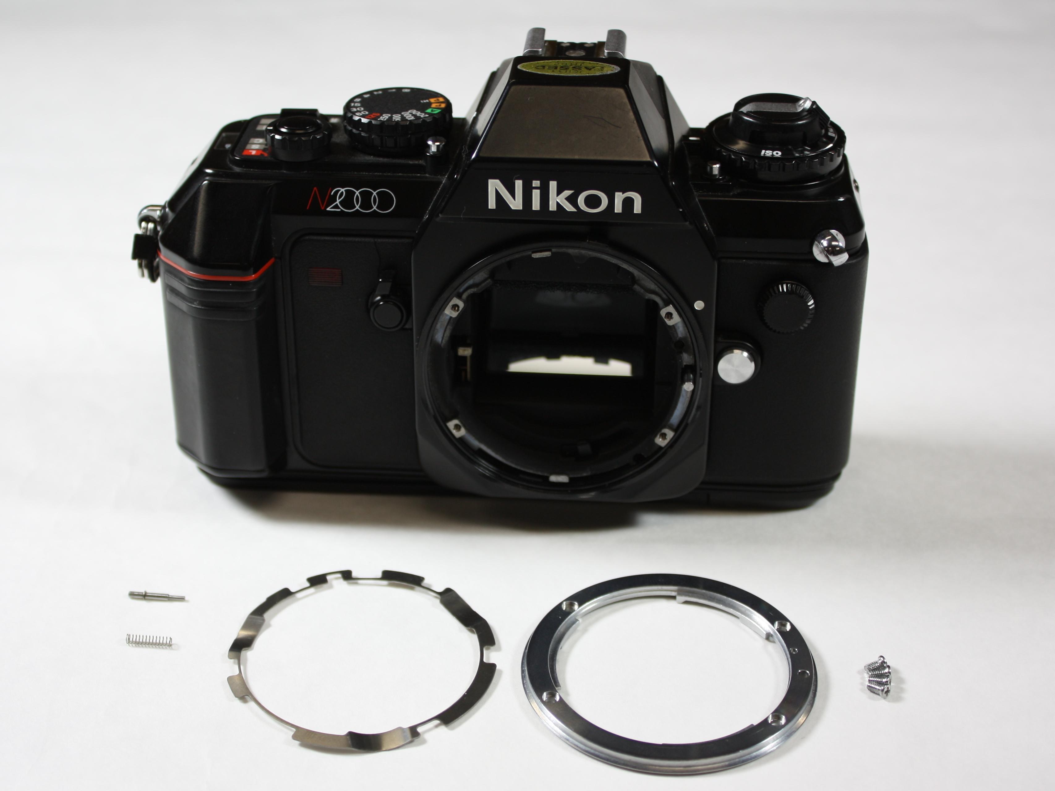 nikon n2000 f301 repair ifixit rh ifixit com Nikon FG Nikon F5