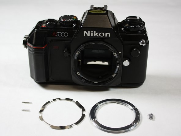 Nikon N2000 (F301) Communication Board Replacement