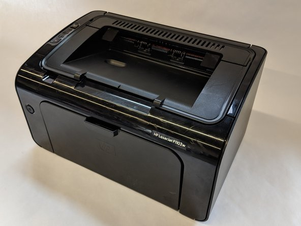 HP LaserJet P1102w Printer Feed Spring Replacement
