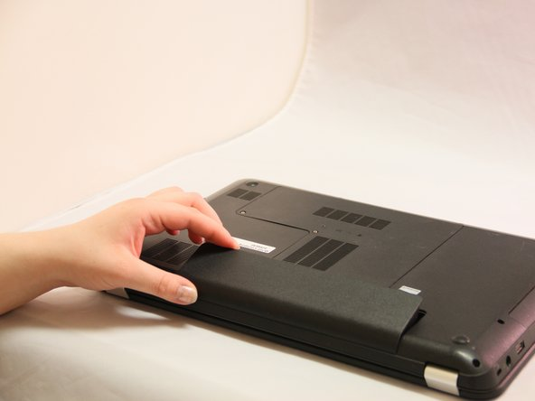 Image 2/3: Replace and discard old battery with a new working battery.