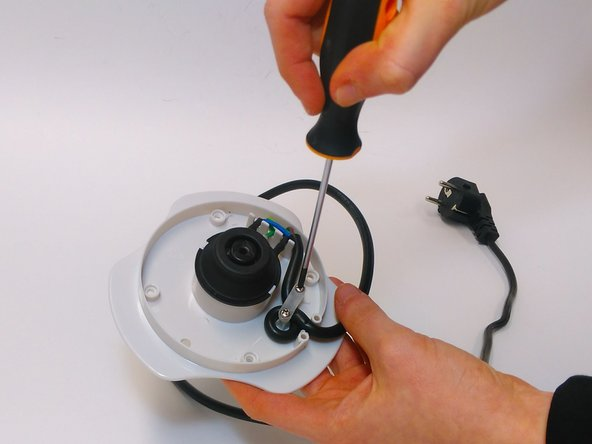 You can remove the electronic part by unscrewing the two screws with a PH1 screwdriver.