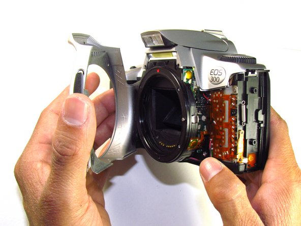 Canon EOS 300 Front Panel Replacement