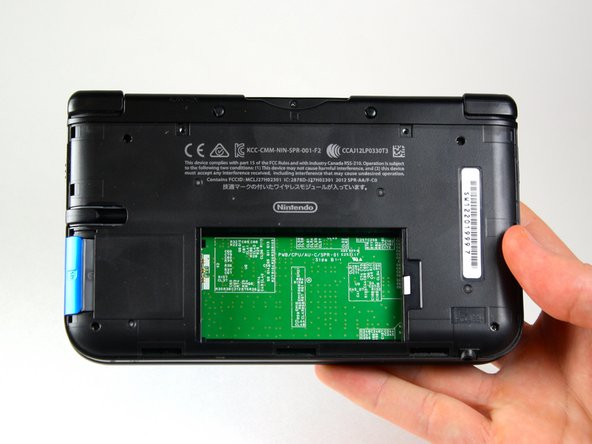Lift the battery out of the case and set aside.