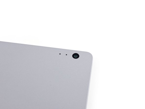 Like the Surface Pro 4, the Book's forward sensor array features an IR sensor, 5 MP camera, microphone, and ambient light sensor.
