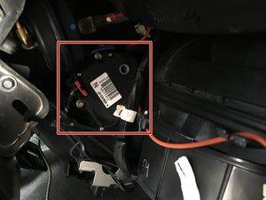 Passenger Side Blend Door Actuator