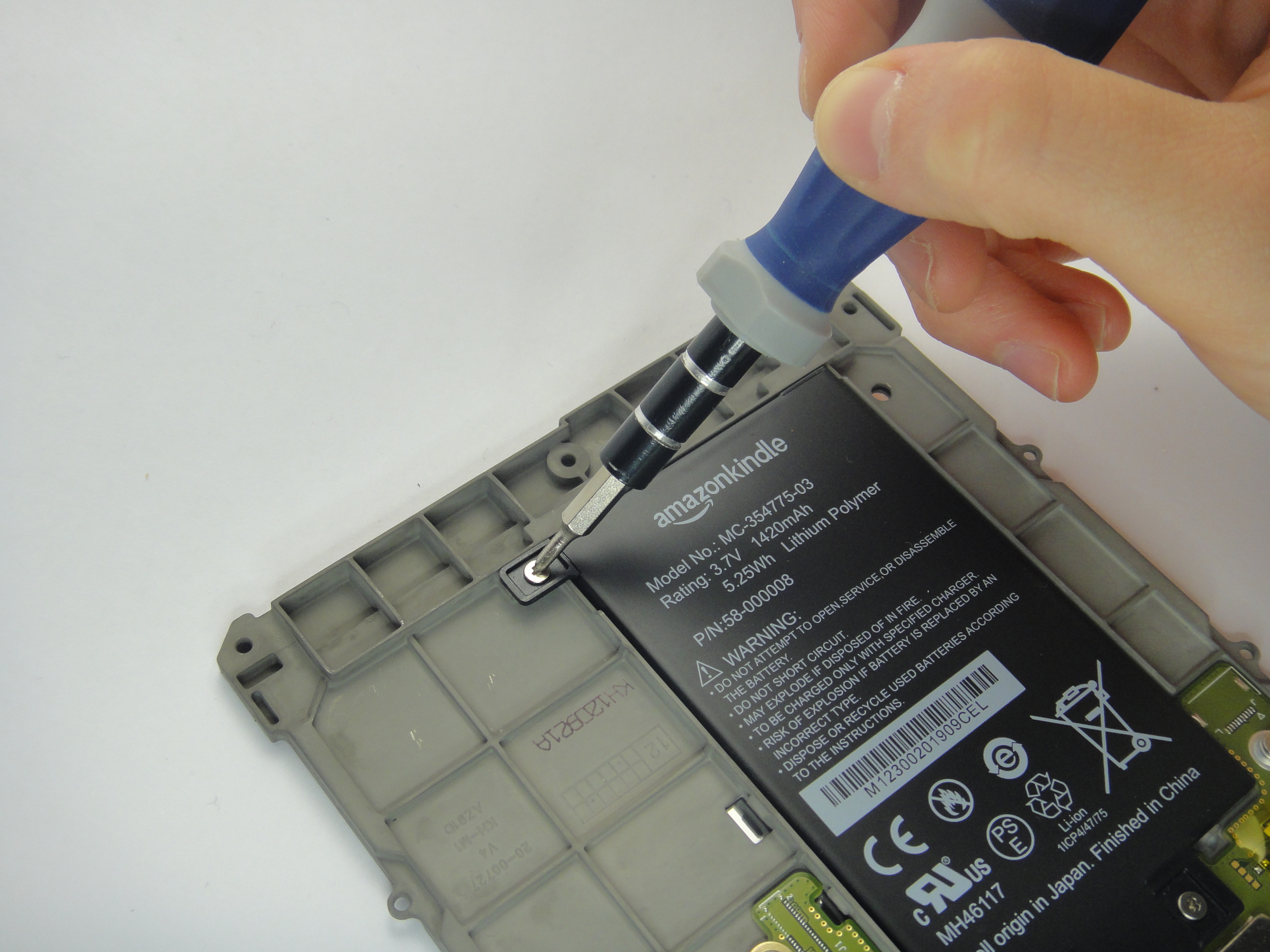Kindle Paperwhite 1st Generation Battery Replacement Ifixit Repair