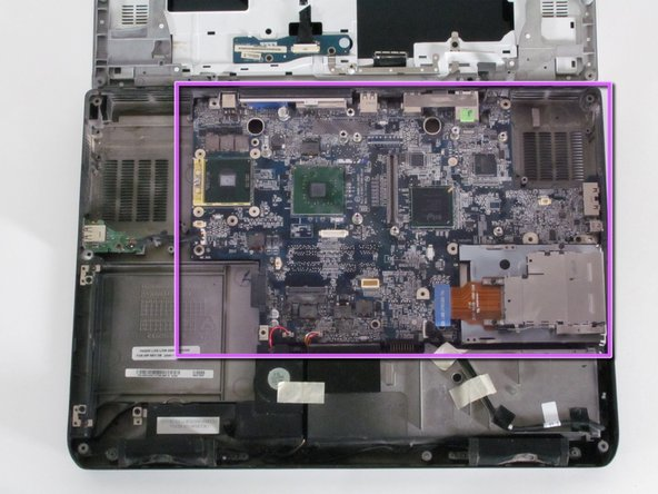 Dell Inspiron E1705 Motherboard Replacement