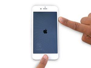 iPhone6のハードリセット方法