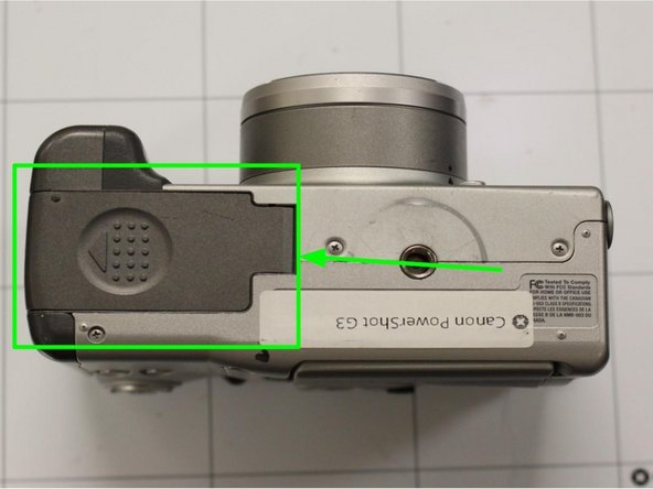 Image 1/1: '''Step 5. Repeat:''' Repeat procedure until the shutter becomes unstuck.
