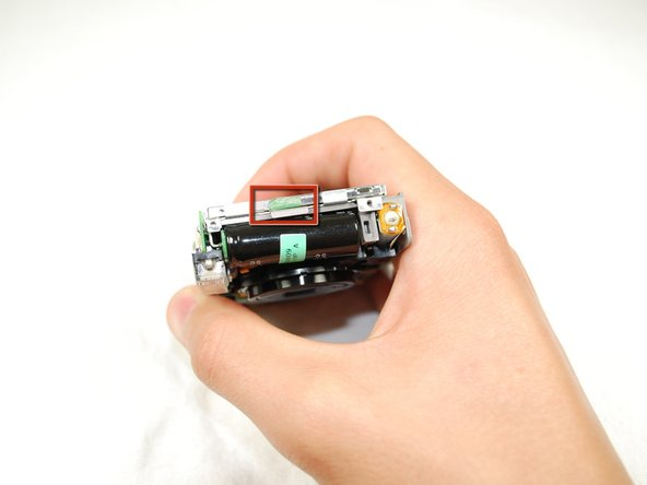 Image 1/2: Carefully lift the LCD Screen.