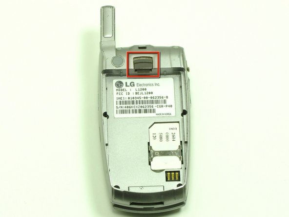 LG L1200 SIM Card Replacement