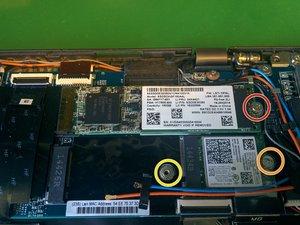 NGFF Wireless und M.2 SSD Modul