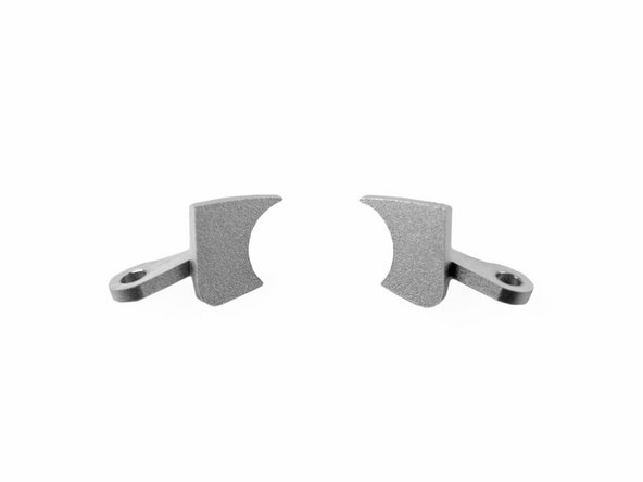 Lower display hinge bracket - quantity 2
