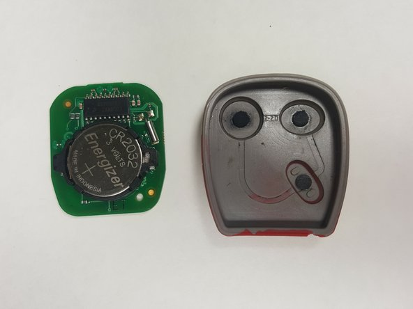 Remove the electrical board from the rubber key pad.