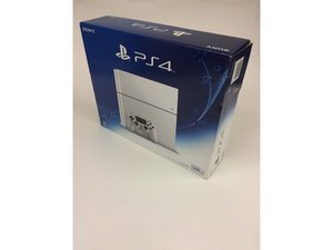 PlayStation 4 CUH-1200 整机拆卸