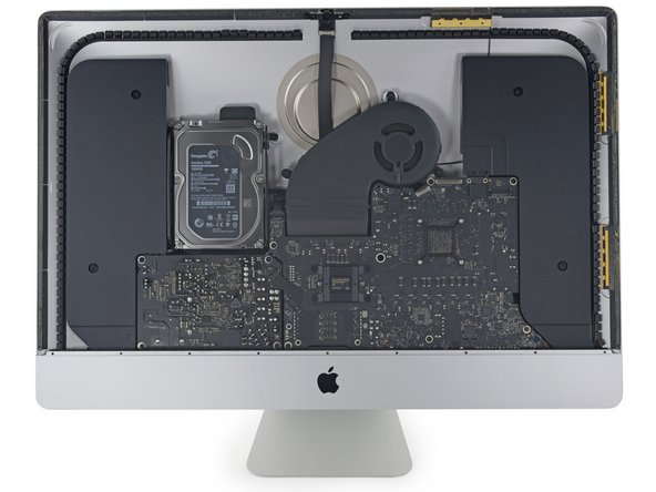 "Barring the new display, the hardware inside the iMac Intel 27"" Retina 5K Display looks much the same as last year's 27"" iMac."