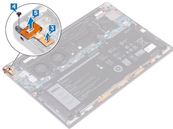 Remplacement du port Jack sur le Dell XPS 13 9380