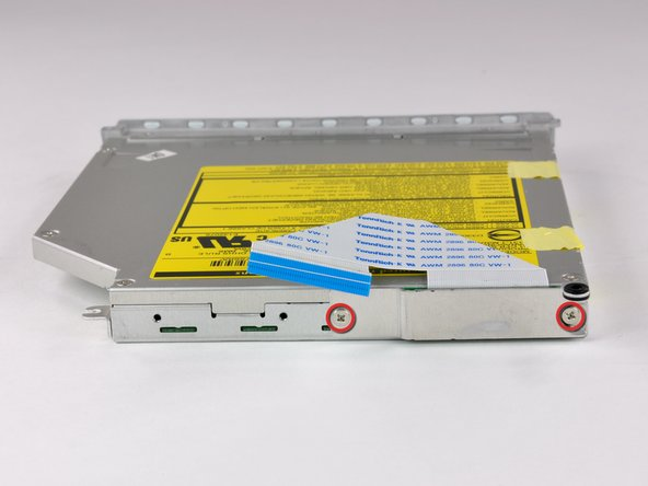 """iBook G4 12"""" 1.33 GHz Optical Drive Replacement"""
