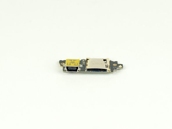 GoPro Hero Micro USB/MicroSD Card Daughter BoardReplacement