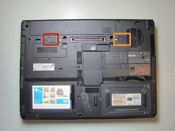 HP Compaq nc6400 Battery Replacement