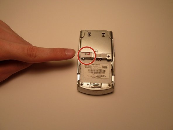 Samsung SGH-T639 SIM Card Replacement