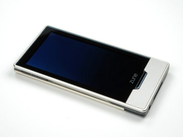The Zune features a 3.3 inch OLED display and capacitive touch screen. OLED screens do not require a backlight like traditional LCDs. This means they can draw significantly less power than a traditional LCD. This isn't the first product with an OLED, but it's certainly cutting-edge technology, and something we haven't seen in any Apple devices yet.