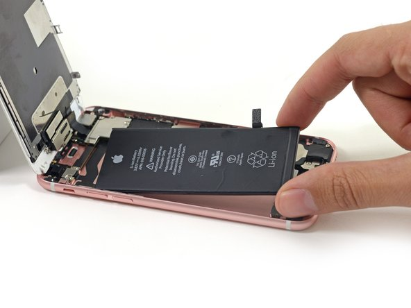 Remove the battery from the rear case.