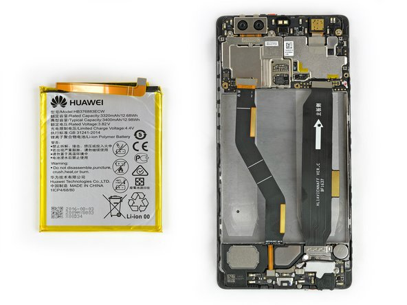 Huawei P9 Plus Battery Replacement