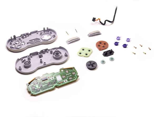 Finally, we can see all the innards that make this little controller work.