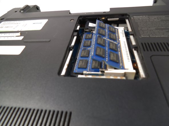 Image 3/3: Don't touch gold pins on RAM chip.