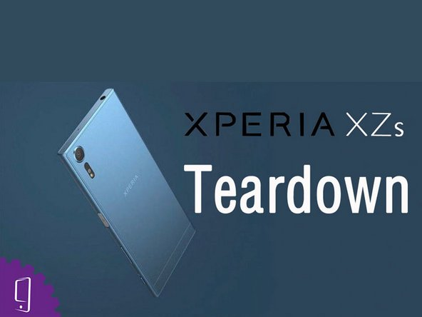Sony Xperia XZs Teardown