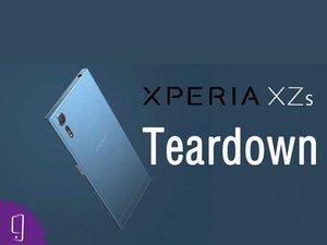Sony Xperia XZs Teardown